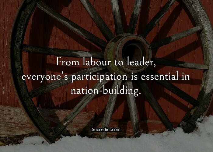 nation building quotes