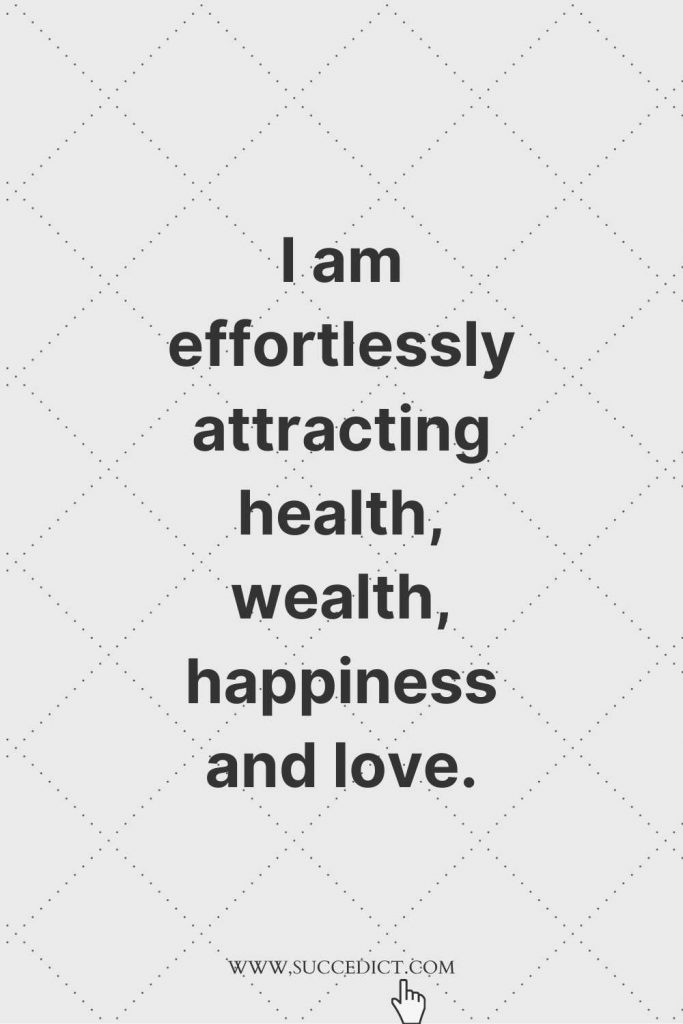 affirmation for happiness and inner peace