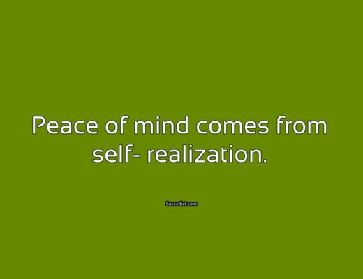 quotes on peace of mind