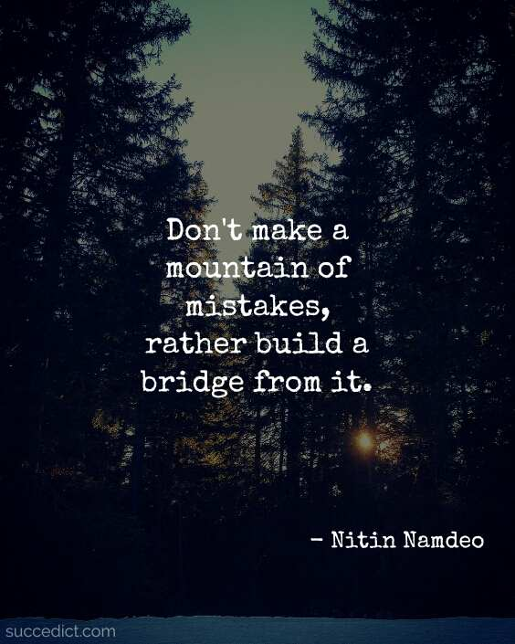 quotes about mistakes in life