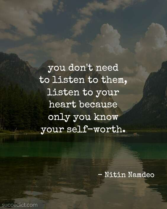 self-worth quotes