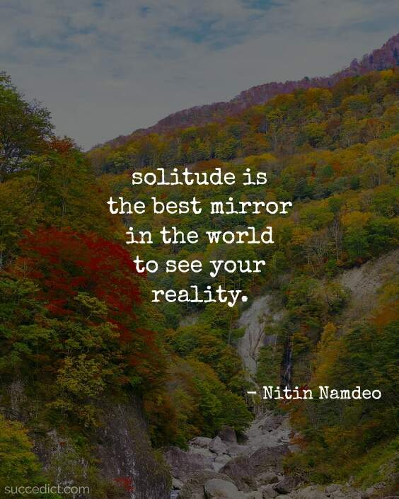 quotes about solitude