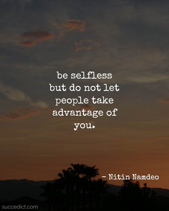 quotes on selflessness