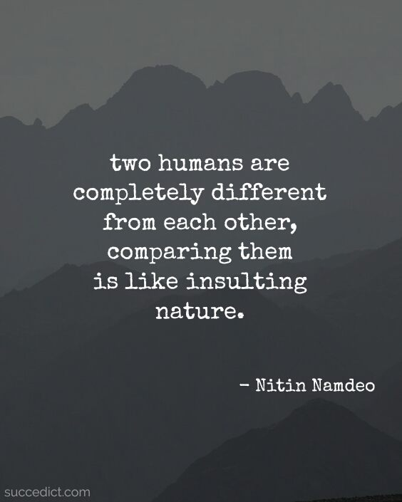 quotes about comparison