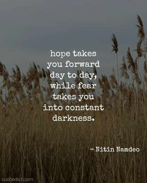 quotes on hope and faith