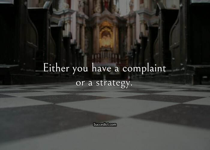 quotes about complaining
