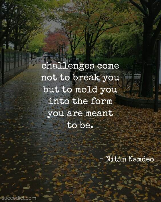 life challenges quotes