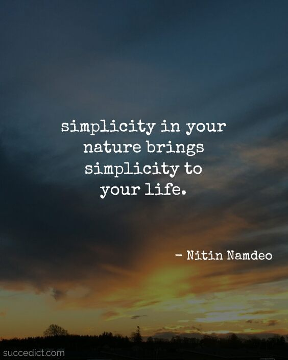 simplicity quotes