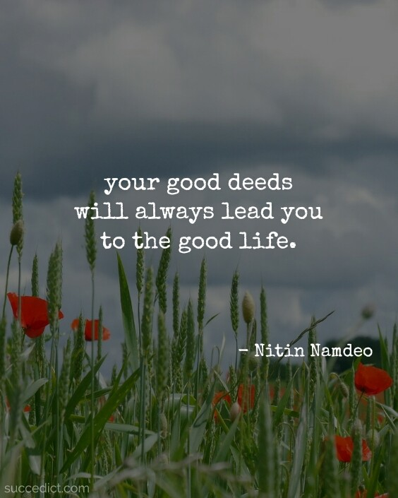 be a good person quotes