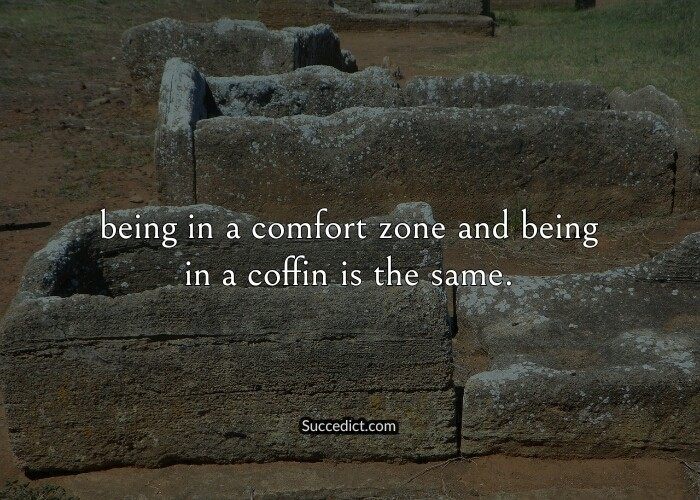 quotes about comfort zone