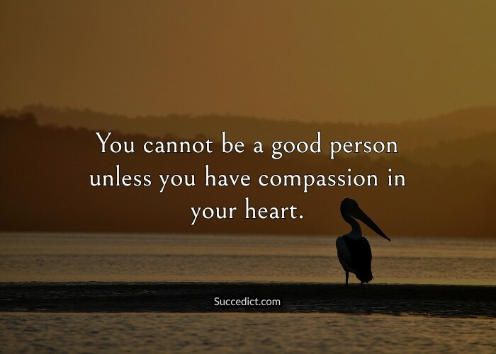 quotes on being a good person