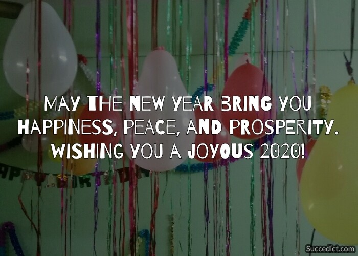happy new year 2020 greetings and wishes