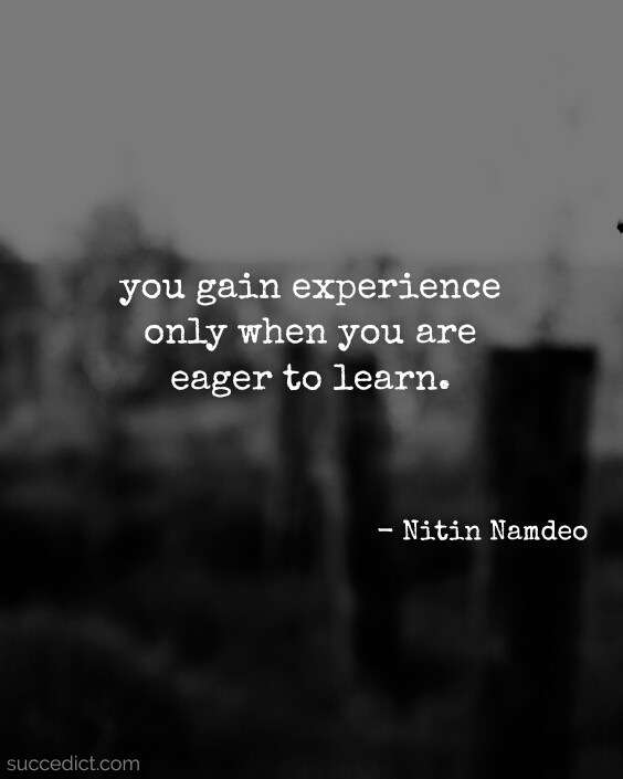 quotes-on-experience