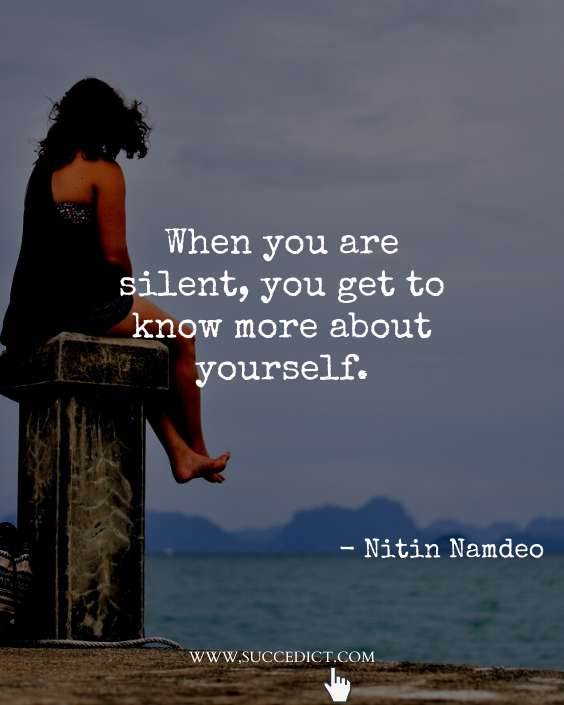 silence quotes images