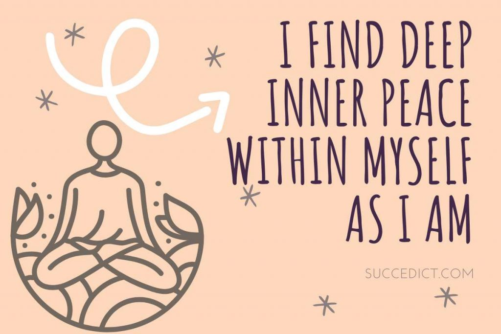 powerful affirmations for inner peace